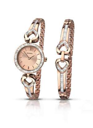 .Lady's Rose Gold Watch by Sekonda