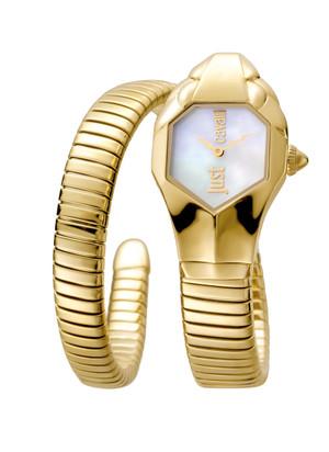 .Lady's Single Strap Gold Watch Just Cavalli