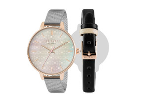 Interchangeable Straps Lady's Watch by Ted Baker