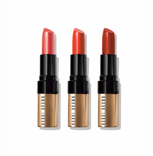 BOBBI BROWN LUXE LIP TRIO LIPSTICKS SET