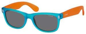 Kids Blue and Orange Sunglasses