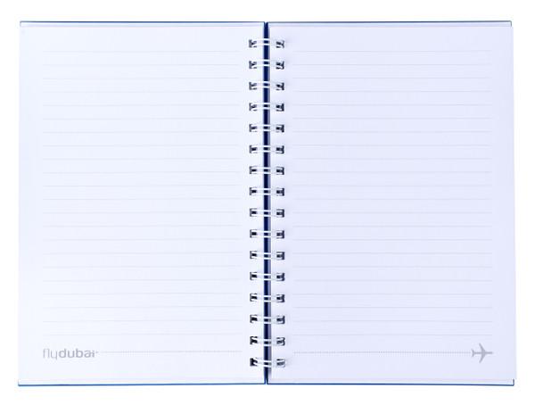 flydubai spiral notebook - Blue
