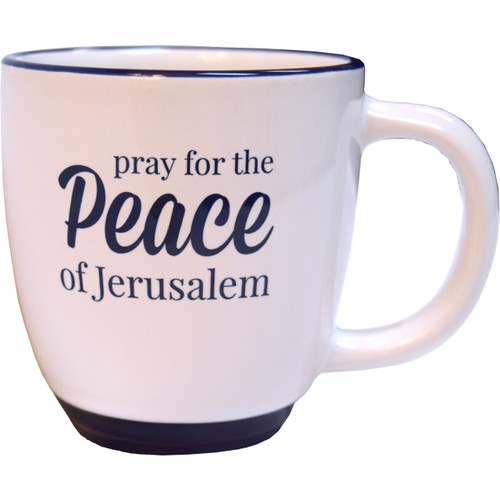 Pray for the Peace of Jerusalem Mug