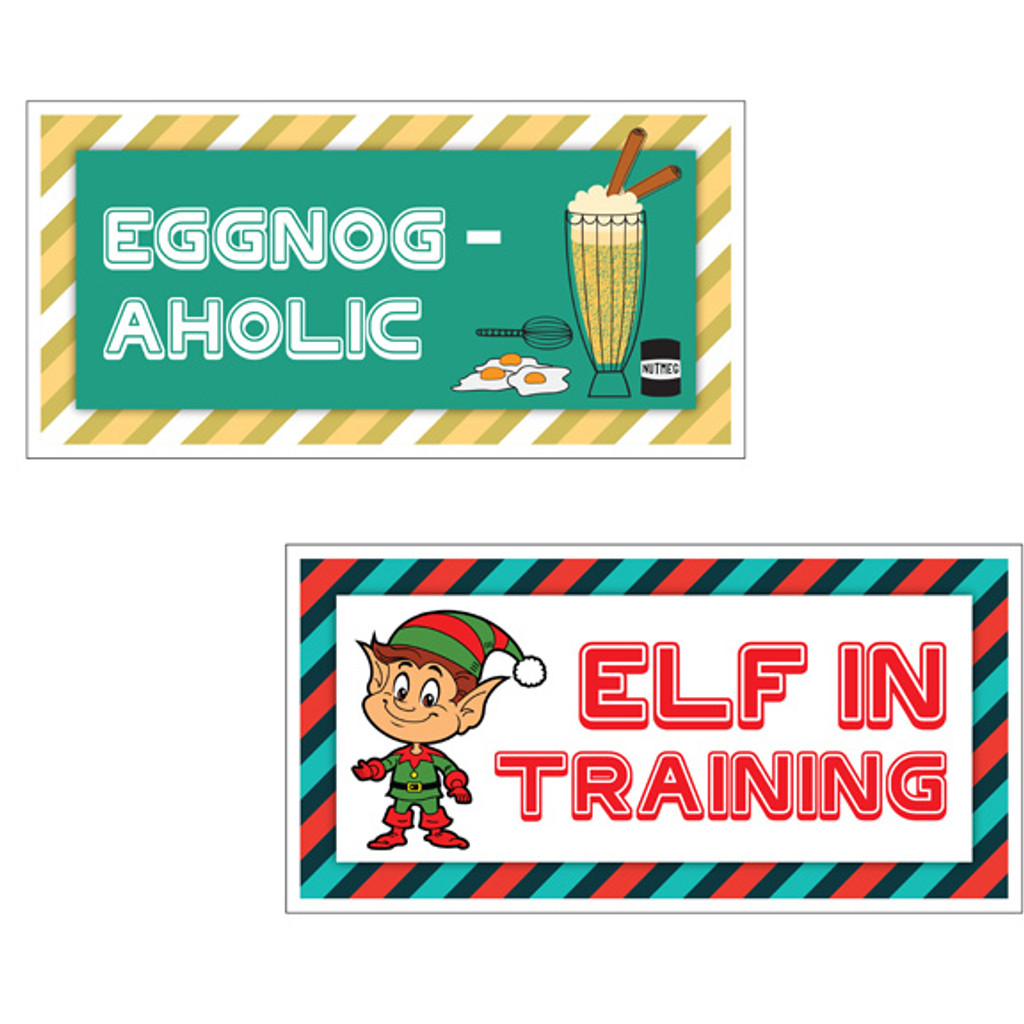 Christmas Signs | Fun Bundle | (Partial Bundle)(One Sign) 1 Of 16 Signs B-STOCK | Photo Booth Props | Prop Signs