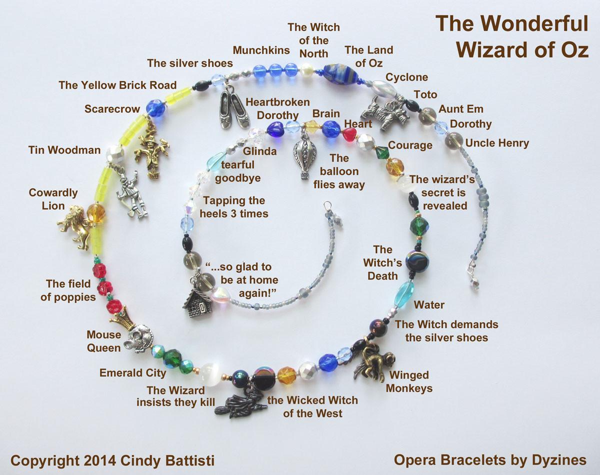 Opera Bracelets The Wonderful Wizard Of Oz Wicked
