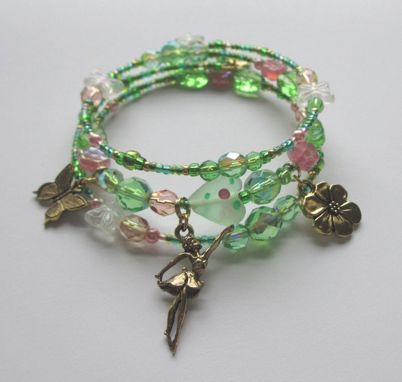 The Flower Maidens Bracelet is inspired by Act 2 of the Wagner opera Parsifal.