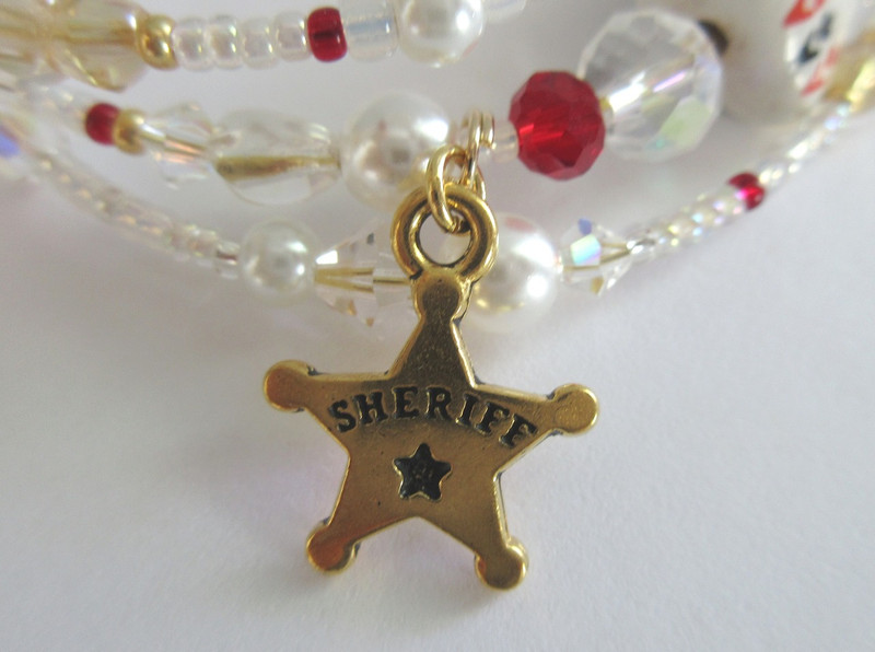 A Sheriff's star represents Sheriff Rance.
