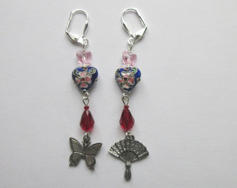 Madama Butterfly Earrings