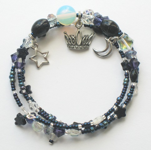 Queen of the Night Bracelet