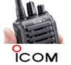 Icom IC-F3001 business two way radio is a rather compact 5 watt 136-174 MHz VHF radio designed for daily use while being very tough and economical.