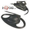 KHS-27 Kenwood USA D-Ring Ear Hanger with PTT and Microphone and free shipping.