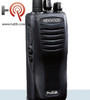 The Kenwood TK-2402V16P portable radio offers 16 channels, high power output, and an advanced lithium battery. This is a relatively small and lightweight business radio, yet is extremely durable (built to IP54/55 and military 810 C, D, E, and F standards), making it a great choice for a wide array of environments, from light duty operations, to the toughest construction jobs.