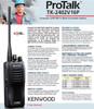 Kenwood TK-2402V16P Compact VHF FM 5-Watt Portable Radios are a great value.
