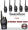 Blackbox Bantam Six Pack Series VHF 2-Way Radio, Compact, Rugged, Full Power Radio, 16 Channels, 5 watts / 2 watts, Scanning, Voice Channel