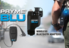 Now each employee can use there own personal bluetooth headset to talk on their two way radio. The Pryme BT523 will work with most bluetooth headsets.