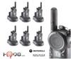 Motorola CLS1410 Six Pack VibraCall 2-Way UHF Radios