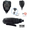 Pryme SPM-2100 Series - This Remote Speaker Microphone is Heavy Duty Grade and can withstand the toughest environments. Water Resistant with rubber sealed housing for heavy duty use in wet environments.