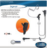 Rocket Science Signal 2-Wire Surveillance Earpiece. Professional 2-Wire Surveillance Kit with Audio Tube and PTT button.