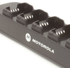 Keeps staff radios fully charged for virtually any circumstance. Saves time by copying settings from single radio to fleet of radios. Requires only a single outlet rather than several to preserve space RLN-6309 Motorola CP110, RDU2020, RDU2080... multi-charger.