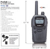 Kenwood TK 3230 business radio is great for retail, doctor or dentist offices, warehouse, shipping and most small business applications.