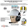 HBB-EM-HM Dual Earmuff High Noise 24db Helmet Model