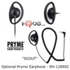 Optional Pryme Scout EH-1289SC Listen-Only Earphone
