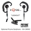 Optional Pryme Lookout EH-389SC Listen-Only Earphone
