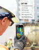 With the CAT S60 thermal imaging is available at the simple touch of a button, you can quickly identify gaps in insulation, electrical faults and monitor the performance of machinery. You can even check the gas cylinder levels for your barbeque or find the freshest loaf of bread at the market.