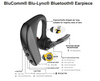 The Klein BluComm Blu-Lync Bluetooth Earpiece.  Use with Smart phones and 2-way radios. An Adpter is required to connect to 2-way radios.