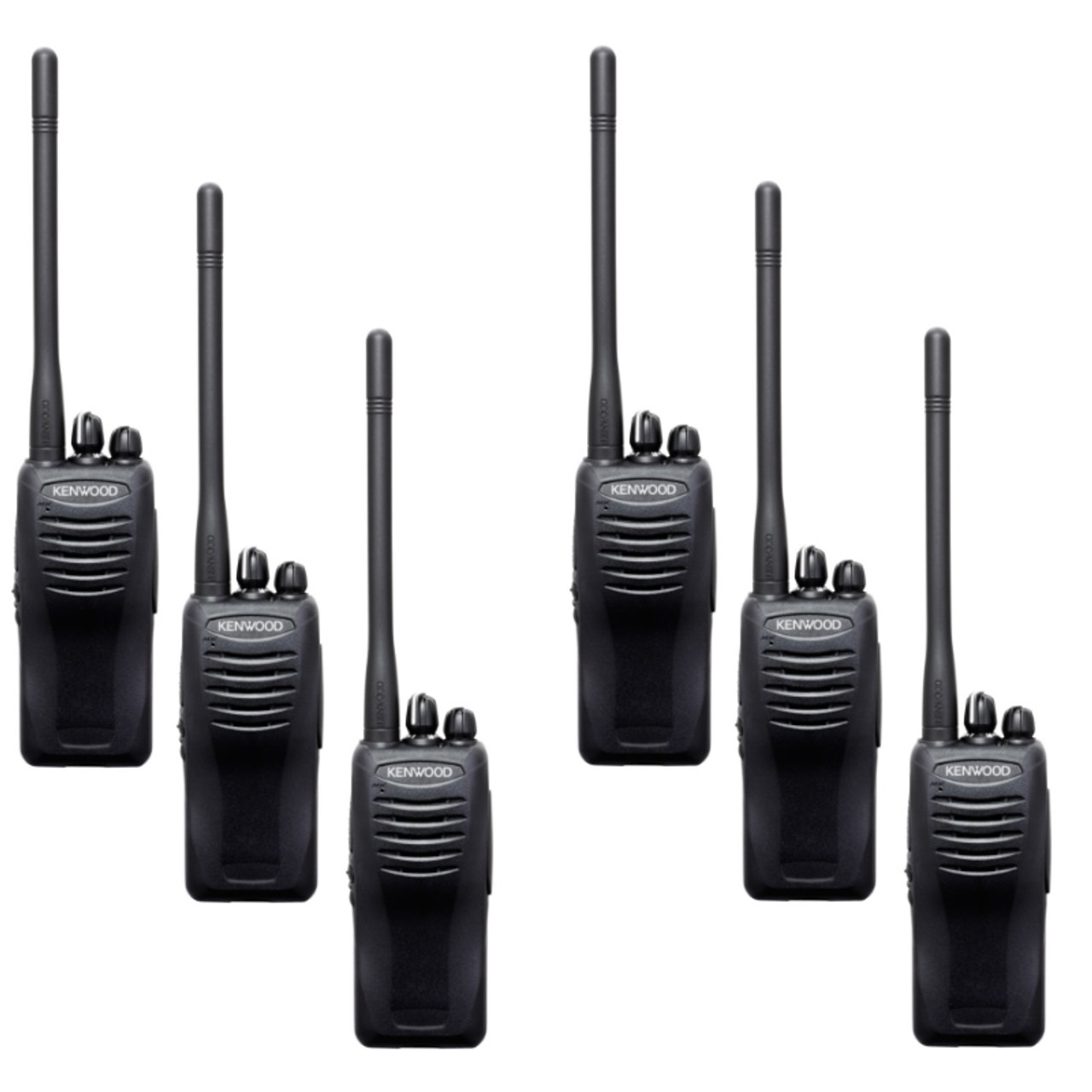 Six Pack of Kenwood TK-3402 5 Watt portable radio offers ...