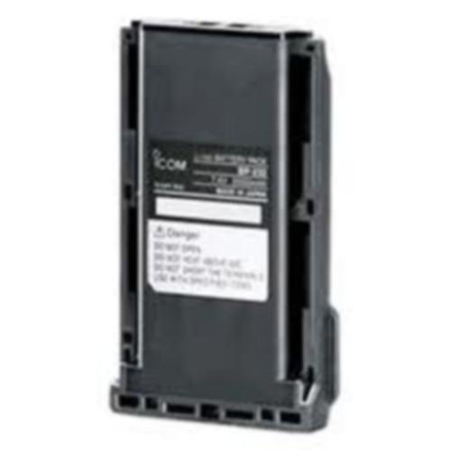 High Capacity Li-Ion 2000mAh Battery BP232N BP-232N BATTERY PACK Li-Ion 7.4V 1900/2000mAh (min/typ.). Operating time: 16/15 (VHF/UHF)
