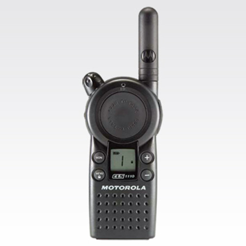 The Motorola CLS 1410 on-site two-way radio is designed for the fast pace of business. It operates on a four channels with a choice of 56 business-exclusive frequencies for enhanced voice quality, privacy and reliability.