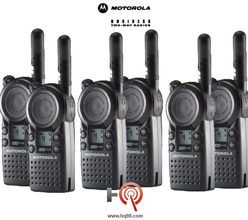office radios. Unique Radios Motorola CLS1410 Six Pack Of Two Way Radios Are Small Light And For Office Radios