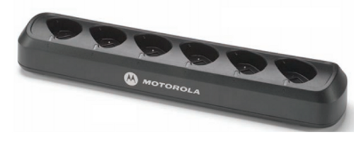 Radio not included. Motorola 53960 110V AC six unit charger for DTR digital two-way radios. Save your AC outlets and keep your radios and/or your spare batteries charged and ready for the next shift.
