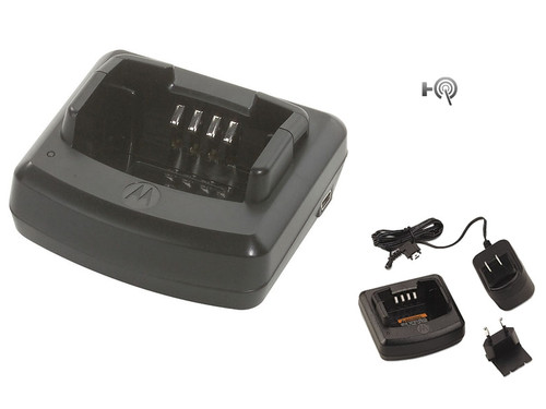 RLN6304 Rapid charger kit 2 hour rapid charger, fully charge your RDX Motorola two way radio in 2 hours, use with Motorola RDX series Motorola RDX battery