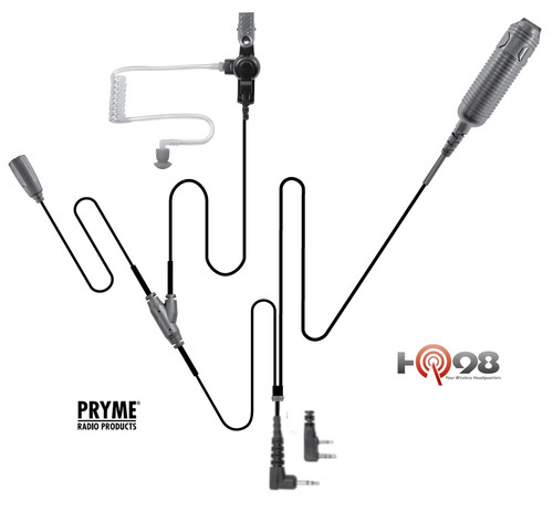 Pryme SPM-3300 Heavy Duty 3-Wire Surveillance kit is a