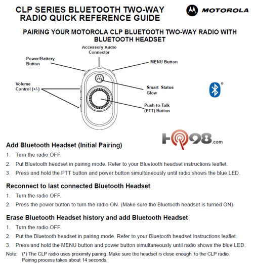motorola bluetooth owners manual owners manual book u2022 rh userguidesearch today Motorola H500 Bluetooth Pairing Pairing Motorola Bluetooth Stereo Headset