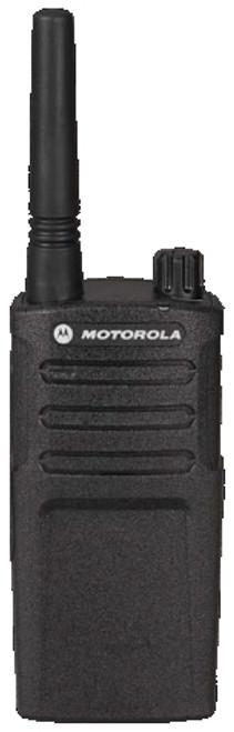 No FCC license required. RMM2050 by Motorola meets Military Standard 810 C, D, E, F and G plus IP54/55 and these radios undergo Motorola's unique Accelerated Life Testing (ALT). This rigorous laboratory testing simulates up to 5 years of field use.
