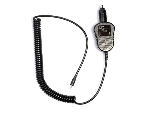 The HYT CHV09 Vehicle Power Adapter for TC-518 OBR 2-way radios.