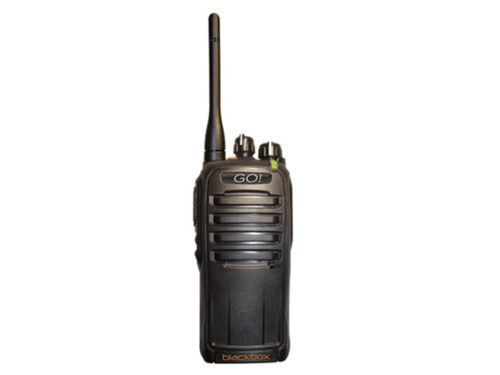 Great for Professional use! Use the Blackbox GO Radios anywhere, like the track, camping, boating, Surveillance, Casinos, Law Enforcement, Restaurants, Construction, Warehouse, Retail Store, Tactical units / teams.