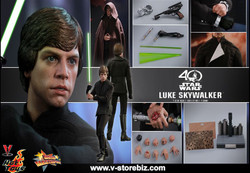 Hot Toys MMS429 Star Wars Return of the Jedi Luke Skywalker