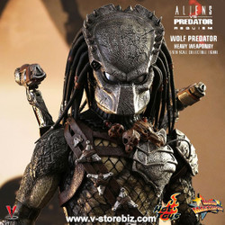 Hot Toys MMS443 Aliens vs Predator : Requiem Wolf Predator