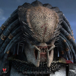 Hot Toys MMS325  Alien vs. Predator Elder Predator