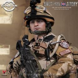 DAMTOYS 2016 Exhibition 78036 British Army In Afghanistan Minimi Gunner