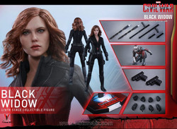 Hot Toys  MMS365 Captain America Civil War Black Widow