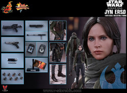 Hot Toys MMS404 Rogue One : A Star Wars Story Jyn Erso