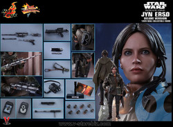 Hot Toys MMS405 Rogue One: A Star Wars Story Jyn Erso (Deluxe Version)