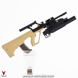 Armoury Steyr AUG w/ M203 Grenade Launcher (Sand)