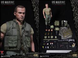 DAMToys 78038 Vietnam War US Marines Tet Offensive 1968
