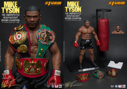 Storm Toys Mike Tyson The Undisputed Heavyweight Boxing Champion